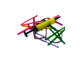 Шарики воздушные удлиненные с насосом упаковка 10шт 0081 с