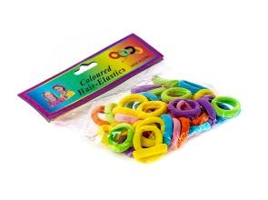 Резинки для волосся кольорові набір 50шт с