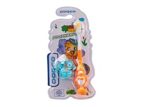 Зубна щітка дитяча Dorco з іграшкою 2002 с